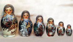Рождество   Матрешка   Фирсова Елена