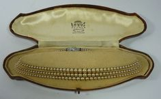 Lotus Pearls (simulated) Made In England - vintage (featured in season four of Jeeves And Wooster!)
