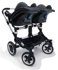 Can you be in love with a stroller?  Fully twin compatible!!!!  For the mere price of our monthly mortgage.....