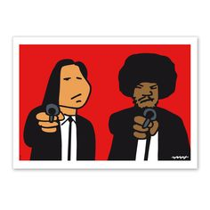 Pulp Fiction, Fallout Vault, Illustrators, Movie Posters, Movies, Fictional Characters, Art, Mouths, Scene