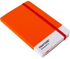 Pantone Orange Notebook