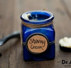 Homemade Natural Shaving Cream