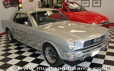 '66 Ford Mustang Coupe Original Silver Frost