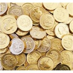 Chocolate Gold Coins 1lb