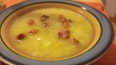 Zuppa di patate e pancetta di Valentina