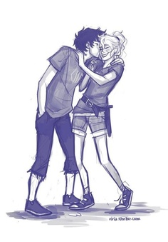 Percabeth shenanigans. They're so perfect.