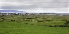Portrush and Royal Portrush Golf Club Links, Northern Ireland.