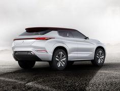 Mitsubishi laat tijdens de Autosalon van Parijs de nieuwe GT-PHEV Concept zien