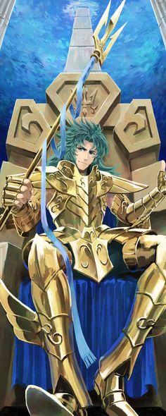 Tags: Anime, Throne, Saint Seiya, Chair, Wavy Hair, Gemini Kanon, Gold Saints