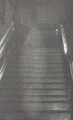 """This image of the """"The Brown Lady"""" ghost is one of the best known ghost photographs ever shot. The apparition is thought to be that of Lady Dorothy Townshend, wife of Charles Townshend, 2nd Viscount of Raynham, of Raynham Hall in Norfolk, England in the early 1700s. The photograph was taken in September, 1936 by Captain Provand and Indre Shira, two photographers who were taking pictures of Raynham Hall for Country Life magazine.  This is your quintessential ghost photo!"""