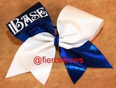 Cheer Bow by MyFierceBows on Etsy, $12.50