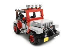 Lego Jurassic Park Wrangler - http://tynanmotors.com.au/lego-jurassic-park-wrangler/
