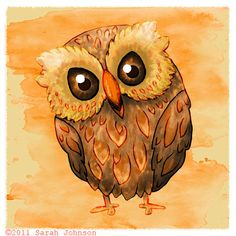 Adorable Owl Sarah Johnson