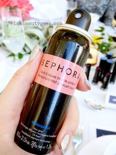 You ready for spray blush? Let's look at the Sephora Collection Perfection Mist Airbrush Blush. Colour: Such a peach