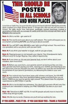 11 things you won't (didn't) learn in school by Bill Gates @BillGates