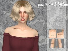 Heolims' you are art - tattoo