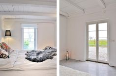 beautiful simple bedroom