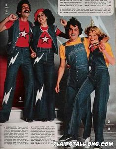 Omg why do couples dress like twins in the 70s?