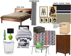 """boys room mood board"" by leiton13 on Polyvore"