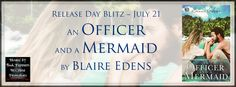 An Officer and A Mermaid Release Day Blitz - http://roomwithbooks.com/an-officer-and-a-mermaid-release-day-blitz/