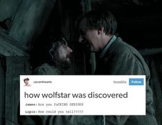 I've literally never had anything bring me so much joy and laughter involving wolfstar oh my God this is so great
