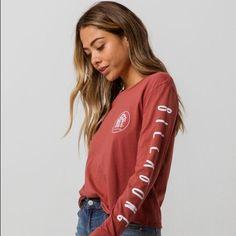 NEW Billabong Girls Printed T Shirt Sizes M,L /& XL CREAM