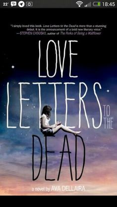 Love letters to the dead  i want to read this now