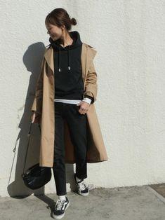 uluのトレンチコートを使ったmaiのコーディネートです。WEARはモデル・俳優・ショップスタッフなどの着こなしをチェックできるファッションコーディネートサイトです。