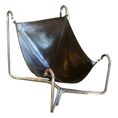 Baffo Groupo Leather Chair by Busnelli