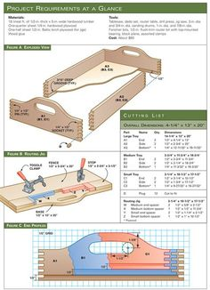 AW Extra - Nesting Trays - Woodworking Projects - American Woodworker