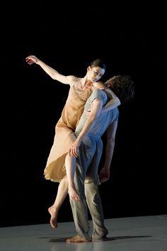 The Paris Opera Ballet's Aurelie Dupont and Herve Moreau in Sasha Waltz's Romeo and Juliet.