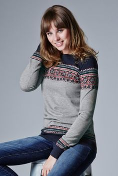 Traditional Fairisle Sweater from Long Tall Sally