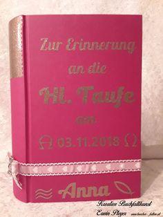 Buchcover mit Wunschtext in persönlicher und individueller Gestaltung The Secret, Notebook, Books, Memories, Handarbeit, Creative, Livros, Livres, Book