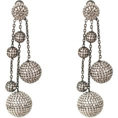 Latelita London Tassel Ball Earring Amethyst gALS0