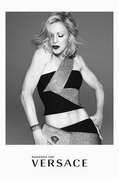 Versace Spring 2015 - Madonna - TheStyleDraft