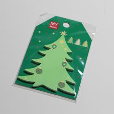 Sticky notes / sticky notes / Christmas tree Item 10058 Size: 6 x Sticky Notes, Form, Christmas Tree, Cards, Etsy, Snow Flakes, Xmas Trees, Ideas, Teal Christmas Tree