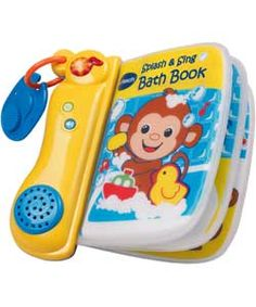 Buy VTech Splash and Sing Baby Bath Book at Argos.co.uk, visit Argos.co.uk to shop online for Baby bath toys and books