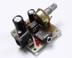 12v car audio amplifier circuit 50w 65w with pcb eleccircuit rh pinterest com