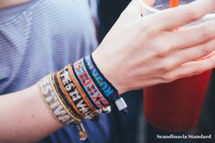 Roskilde Festival Arm Bands over the years | Scandinavia Standard