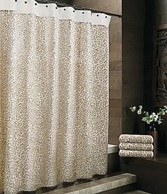 Crate And Barrel Paloma Shower Curtain