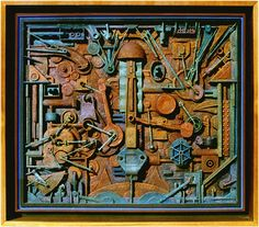 Ron Robertson Assemblage - Wave Gallery