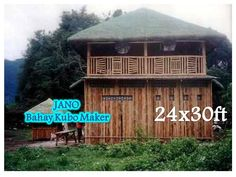 BY: JANO Nipa hut maker Bahay Kubo Design, Bamboo For Sale, Bamboo House, Yahoo Images, Philippines, Gazebo, Image Search, Outdoor Structures, Cabin