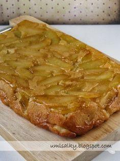 U mlsalky: Obrácený jablečný koláč Desert Recipes, Apple Pie, Food Hacks, Cheesecake, Food Porn, Pork, Food And Drink, Sweets, Fruit Cakes