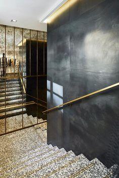 Dorado, blanco, negro y mucho lujo en La Croisette, 55 · Luxury, gold, black and white at La Croisette 55
