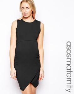 Fitted Black Maternity Dress from @ASOS.com - maternity or not, everyone needs an LBD! #maternity #style