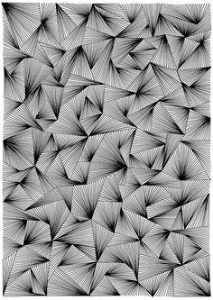 Black and white — My absent mind Doodle Patterns, Line Patterns, Zentangle Patterns, Graphic Patterns, Textile Patterns, Geometric Patterns, Zentangles, Abstract Geometric Art, Geometric Lines