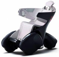 Rollstuhl mit Kollisionswarnung
