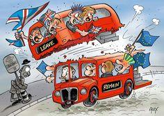 Alex Brexit: les Britanniques plus divisés que jamais Political Satire, Political Cartoons, Brexit Remain, Brexit Humour, Satirical Cartoons, Trump Card, Uk Politics, Cartoon Memes, Roller Coaster