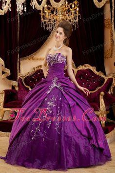 Quinceanera Dress Strapless