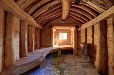 35 The Best Home Sauna Design Ideas You Definitely Like - No matter what you're shopping for, it helps to know all of your options. A home sauna is certainly no different. There are at least different options. Sauna Steam Room, Sauna Room, Rustic Saunas, Cabana, Floor Design, House Design, Sauna House, Saint Sauveur, Outdoor Sauna